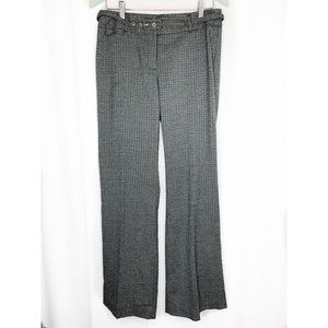 🌸2/$30 Grey plaid Della Spiga Italy trousers